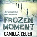 Frozen Moment Audiobook by Camilla Ceder Narrated by Jonathan Keeble