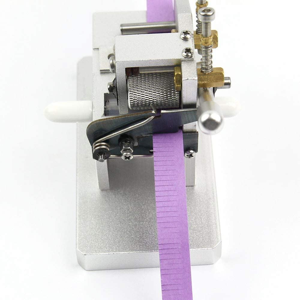 AKYUNM Paper Tassel Cutting Machine Mini Paper Strips Tassel Cutting Craft Tool DIY Quilling Flower Making Tools