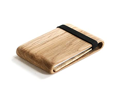 305539bda0c Image Unavailable. Image not available for. Color  Wood Wallet ...