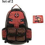 Deadpool Backpack Laptop Outdoor Sports Backpack for Boys School Bag by Bellagione