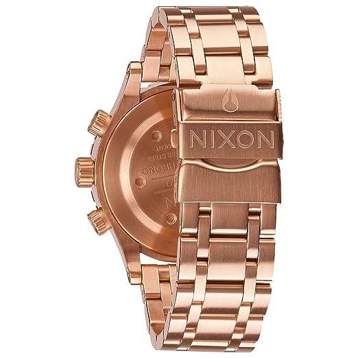 Amazon.com: Nixon A404-1044 Ladies The 38-20 Chrono Rose Gold Watch: Nixon: Watches