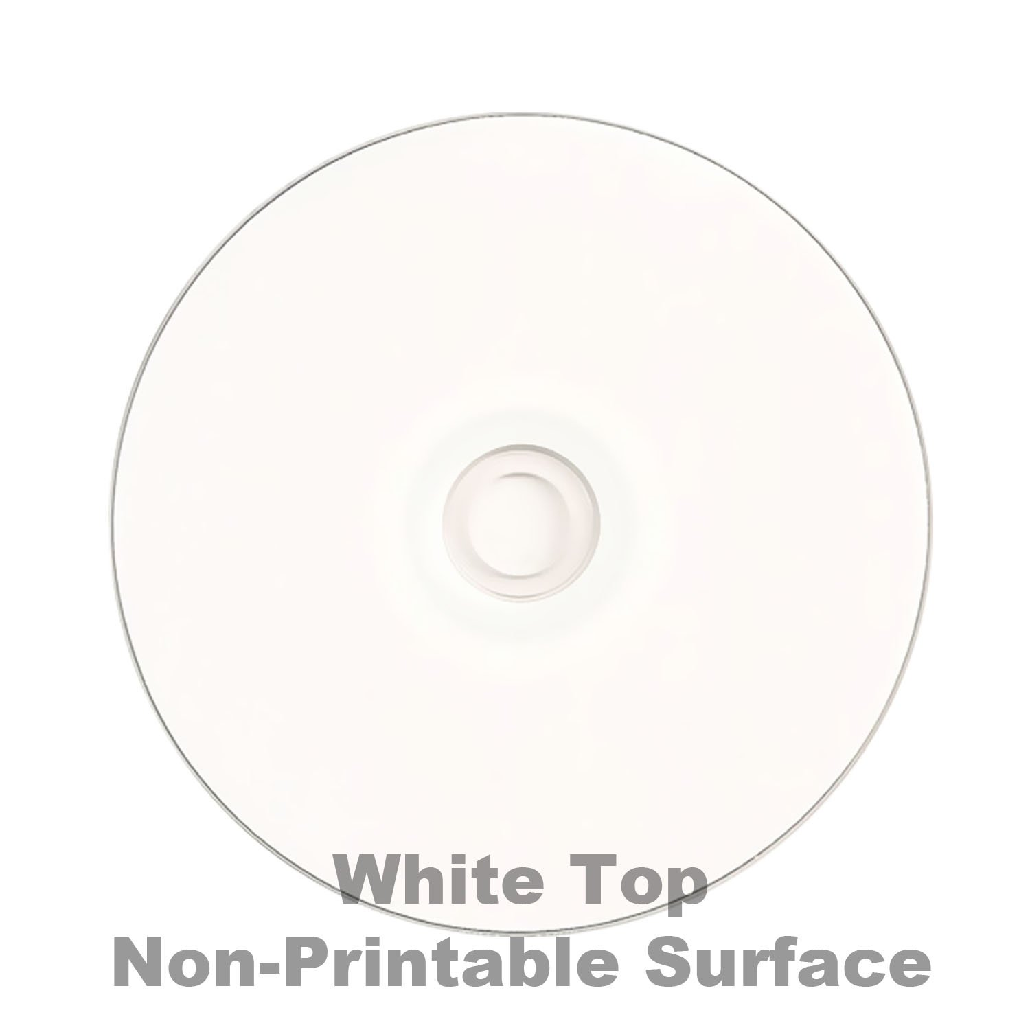 Smart Buy 100 Pack DVD-R 4.7gb 16x White Top (Non-Printable) Blank Data Video Movie Record Disc, 100 Disc 100pk by Smart Buy