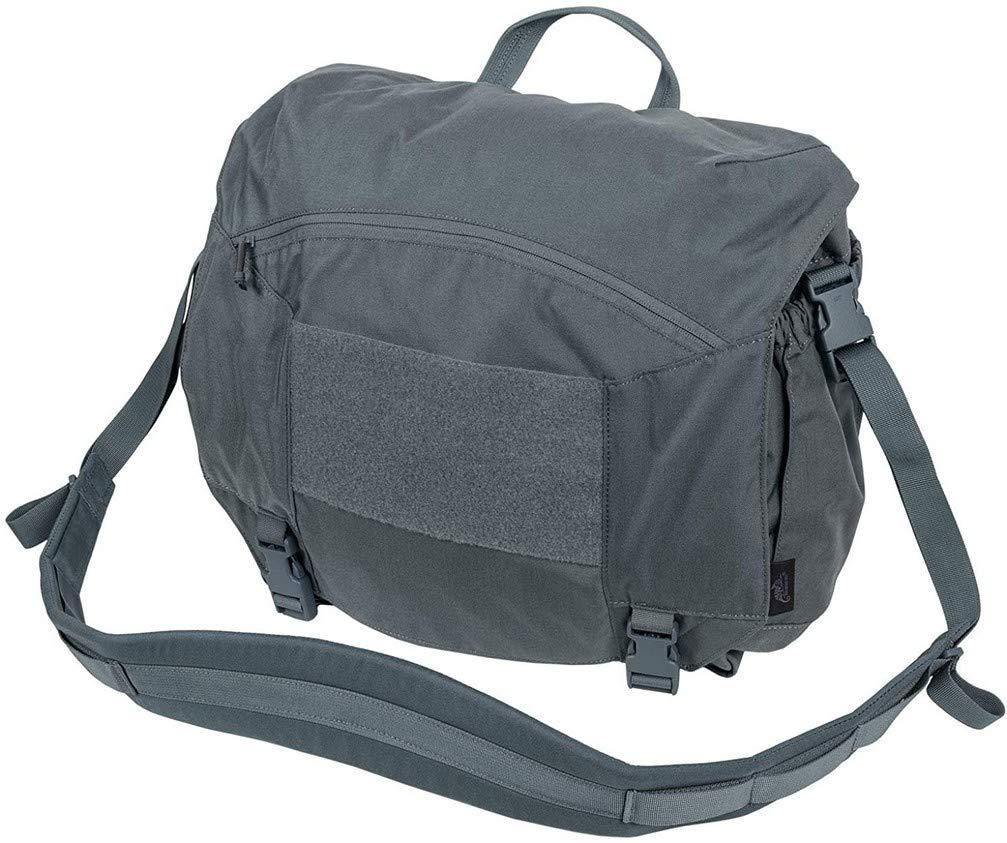 Helikon Urban Courier Bag Large Negro//Shadow Grey