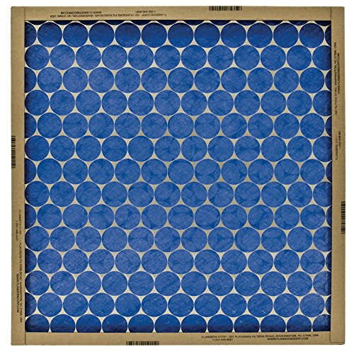 FLANDERS 10155.011921 EZ FLOW MERV 4 FLAT-PANEL FIBERGLASS AIR FILTER, 19X21X1 IN., (12 PER CASE) (One Filter Panel Side)