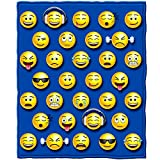 Dawhud Direct Emoji Throw Blanket