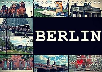 Berlin Horizontal Kalender Quer Amazon De Burobedarf Schreibwaren