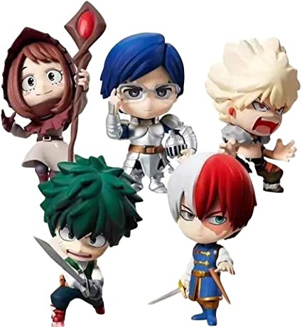 My Hero Academia Bakugou katsuki Todoroki Shoto PVC Action Figure Kids Gift Toy