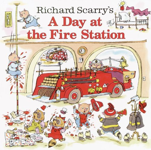 Richard Scarry's A Day at the Fire Station - Worlds Painters Best
