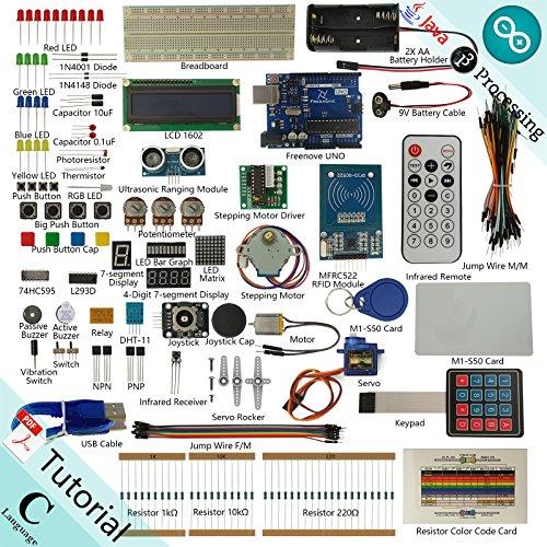Freenove rfid starter kit v for arduino beginner