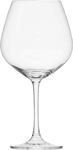 Schott Zwiesel Tritan Crystal Glass Forte Stemware Collection Burgundy/Beaujolais Red Wine Glass, 18.3-Ounce, Set of 6