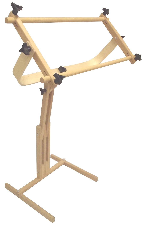 Adjustable Craft Stand with Split Rail Scroll Frame Edmunds Stichers Wonder 6115 Renewed Frank A