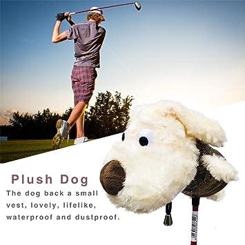 TARTIERY Juego De Fundas para Palos De Golf Plush Dog ...