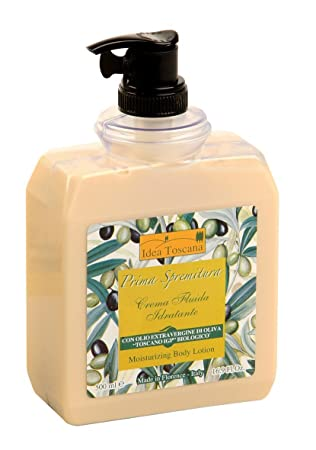 Prima Spremitura Organic Extra Virgin Olive Oil Body Lotion 500ml 16.9 oz