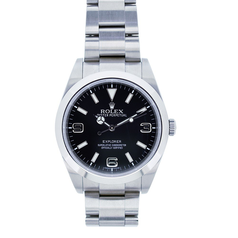 Rolex Explorer swiss-automatic mens Watch 214270 (Certified Pre-owned)