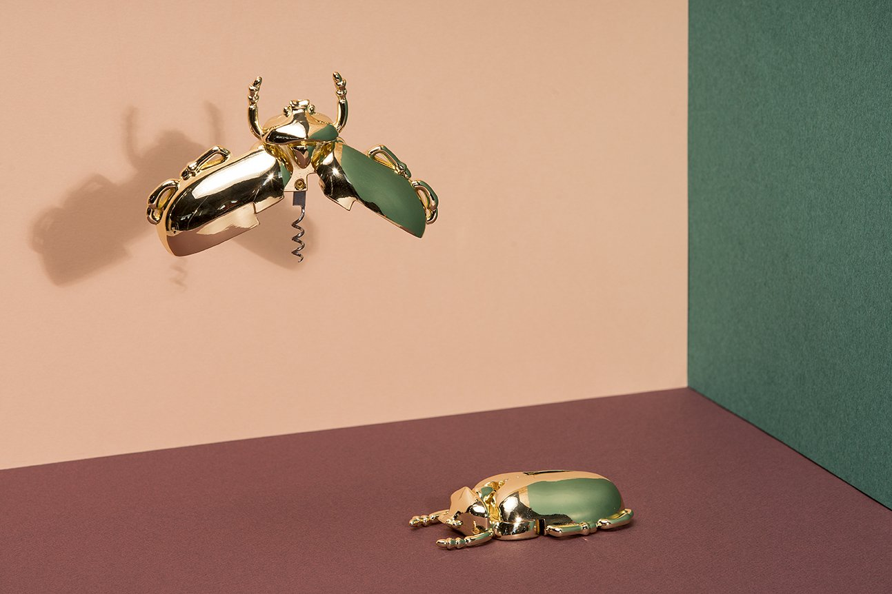 Doiy Insect Wine Bottle Corkscrew (Gold) by DOIY (Image #5)