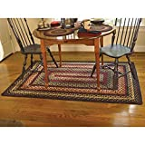 Cheap Park Designs Folk Art Braided Rectangle Rug – 48″x72″