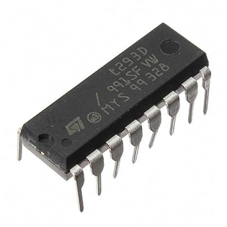 meeboo Controladores para IC Paso Motores L293D para Raspberry Pi ...