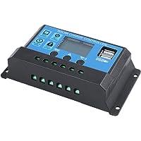Toolmore 30A 12V / 24V Controlador de carga d bateria solar PWM regular auto inteligencia LCD