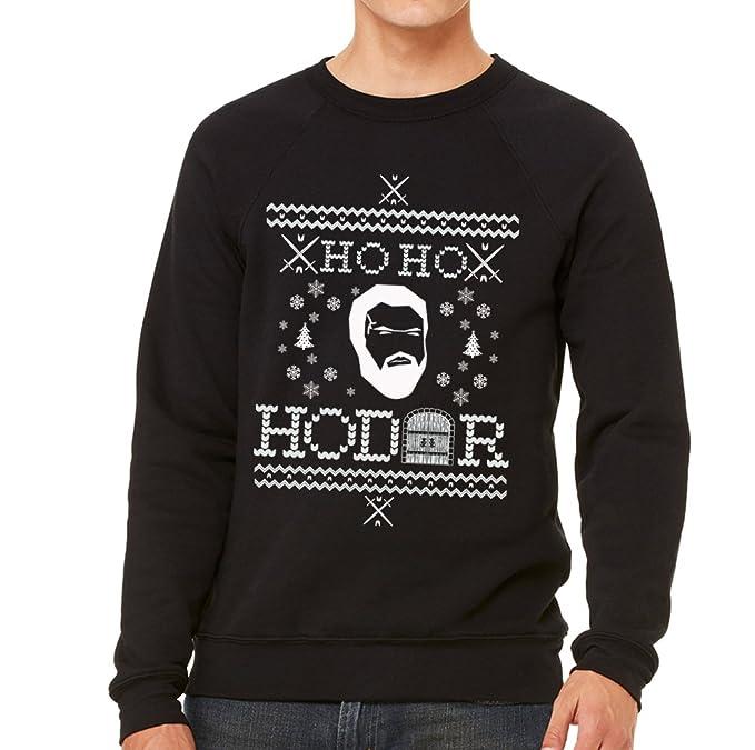 Emdem Apparel Ho Ho Hodor Funny Ugly Christmas Sweater Sweatshirt