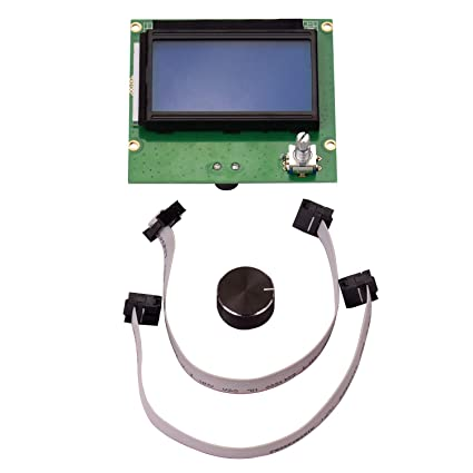 Aibecy Impresora 3D Piezas 12864 Pantalla LCD con reemplazo ...