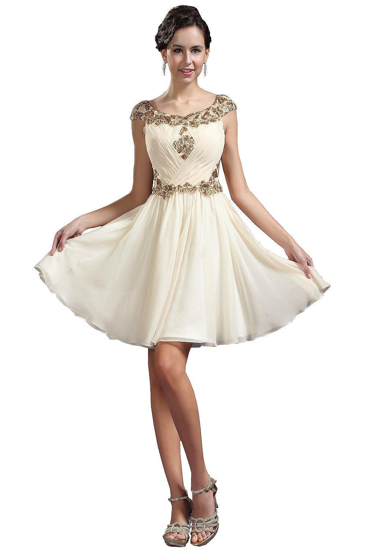 eDressit Hot Round Neck Short Evening Dress Prom Ball Gown (04133814)