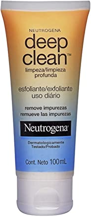Deep Clean Esfoliante Limpeza Profunda 100ml, Neutrogena