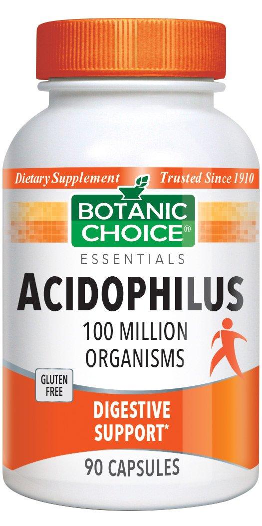 Botanic Choice Acidophilus 90 Capsules (Pack of 6)