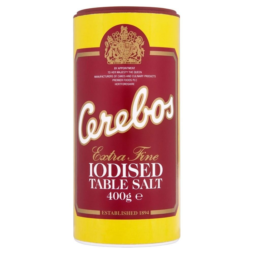 Cerebos Iodised Salt (400g) - Pack of 6