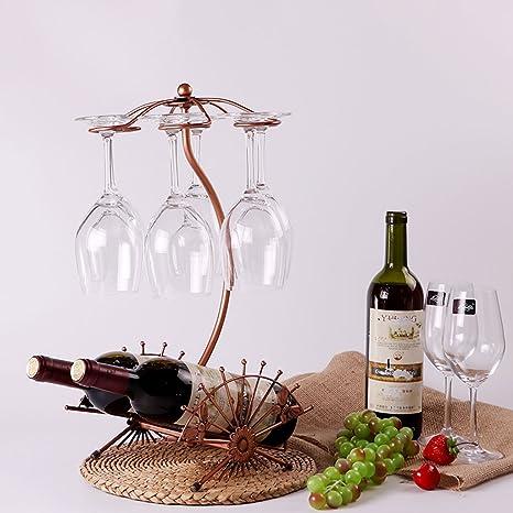 C&S CS Botella de Vino Rack Gabinete Armario Decoración ...