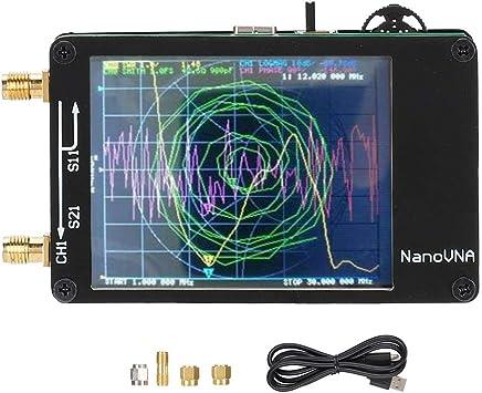Analizador de Red Vectorial portátil, 50KHz-900MHz Digital MF ...