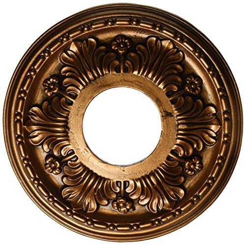 Elk M1000AB Acanthus Ceiling Medallion, 11-Inch, Antique Bronze Finish ()