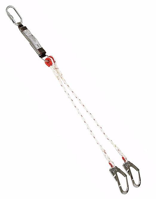 Climax Mod. 35 A doble cordón 1,75 m C/W Scaff ganchos y absorción ...