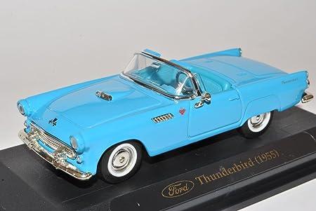 Generation 1955-1957 1//43 Yatming Modell Auto .. Ford Thunderbird Cabrio Blau 1