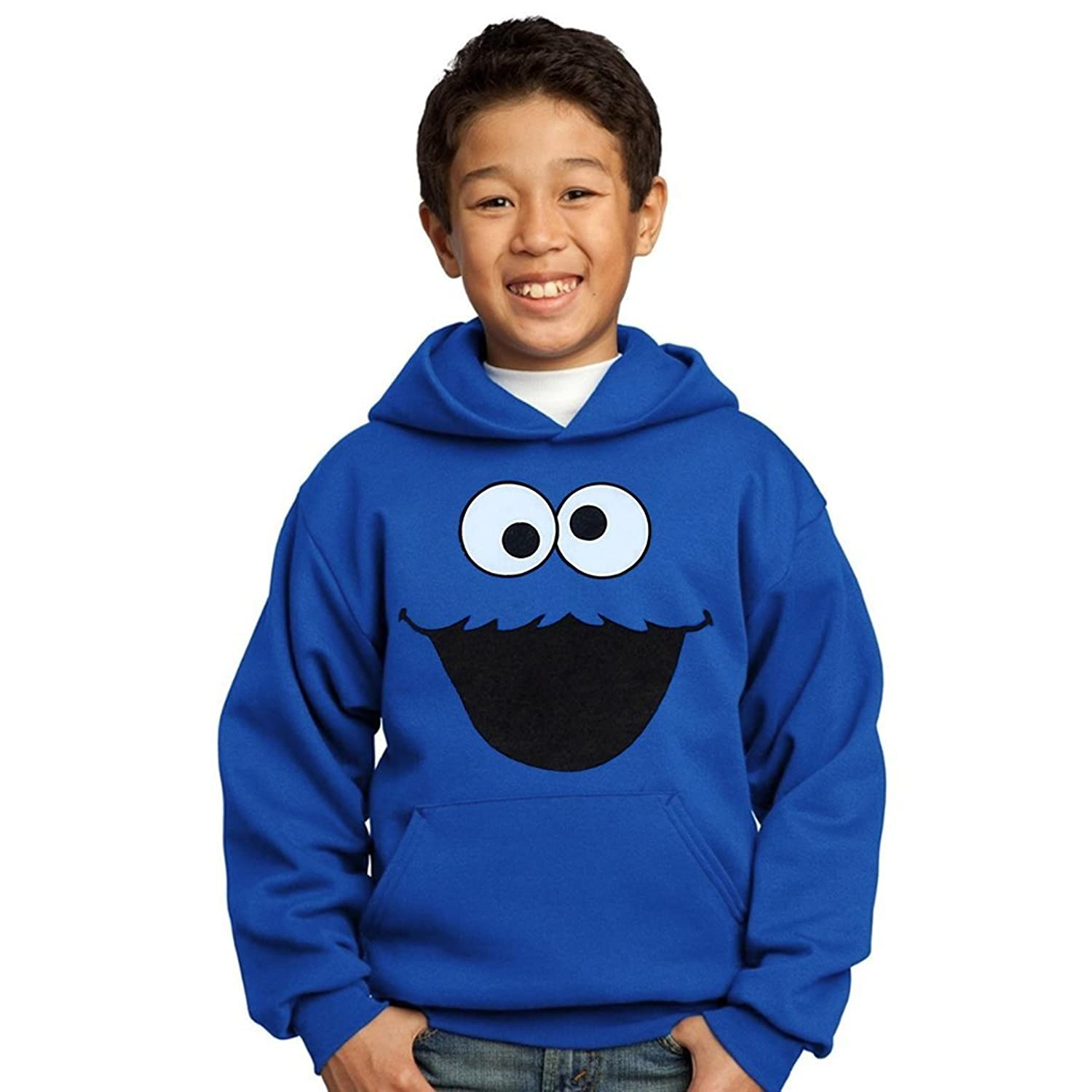 Amazon Cookie Monster Face Youth Hoo Clothing