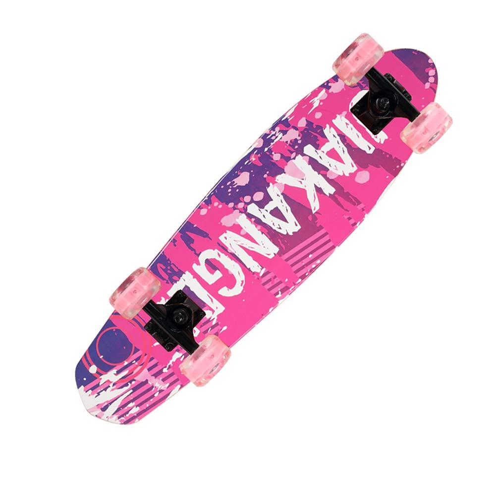 全ての ZX 4ラウンド スケートボード 若者 メープル rosa rosa 大きな魚のプレート 子供 B07H234BZP アダルト 女の子 初心者 スクーター (色 : Arancio solare) B07H234BZP Graffiti rosa Graffiti rosa, 【正規逆輸入品】:f9275ed6 --- a0267596.xsph.ru