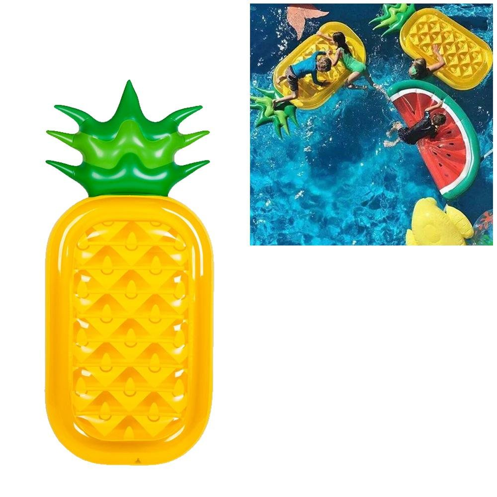 Amazon.com: Giant Pineapple Pool Party Float Raft, niceEshop(TM ...