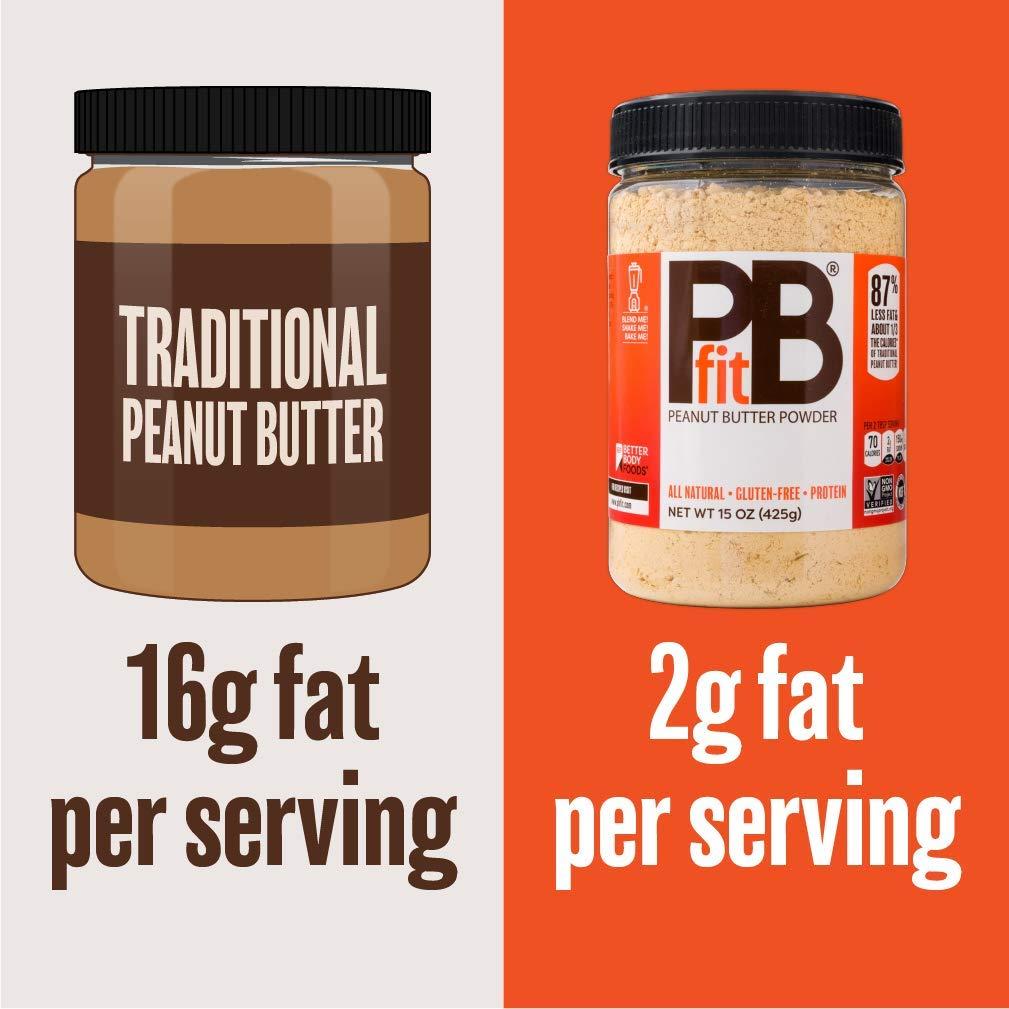 BetterBody - PB Fit - Peanut Butter Powder - 425g: Amazon.es: Alimentación y bebidas