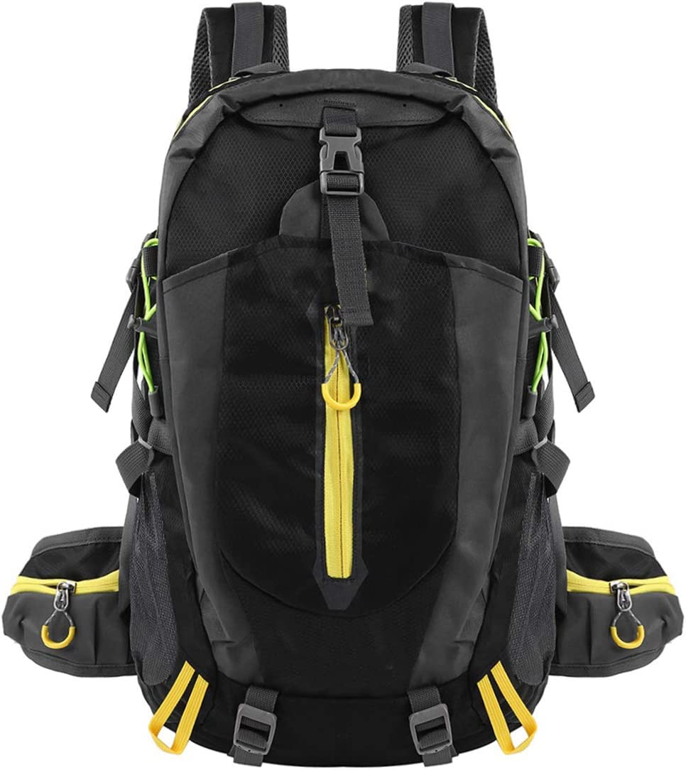 SOONHUA 40L Backpacks Men and Women Lightweight Travel Hiking Climbing Camping Backpack for Outdoor Sports Use