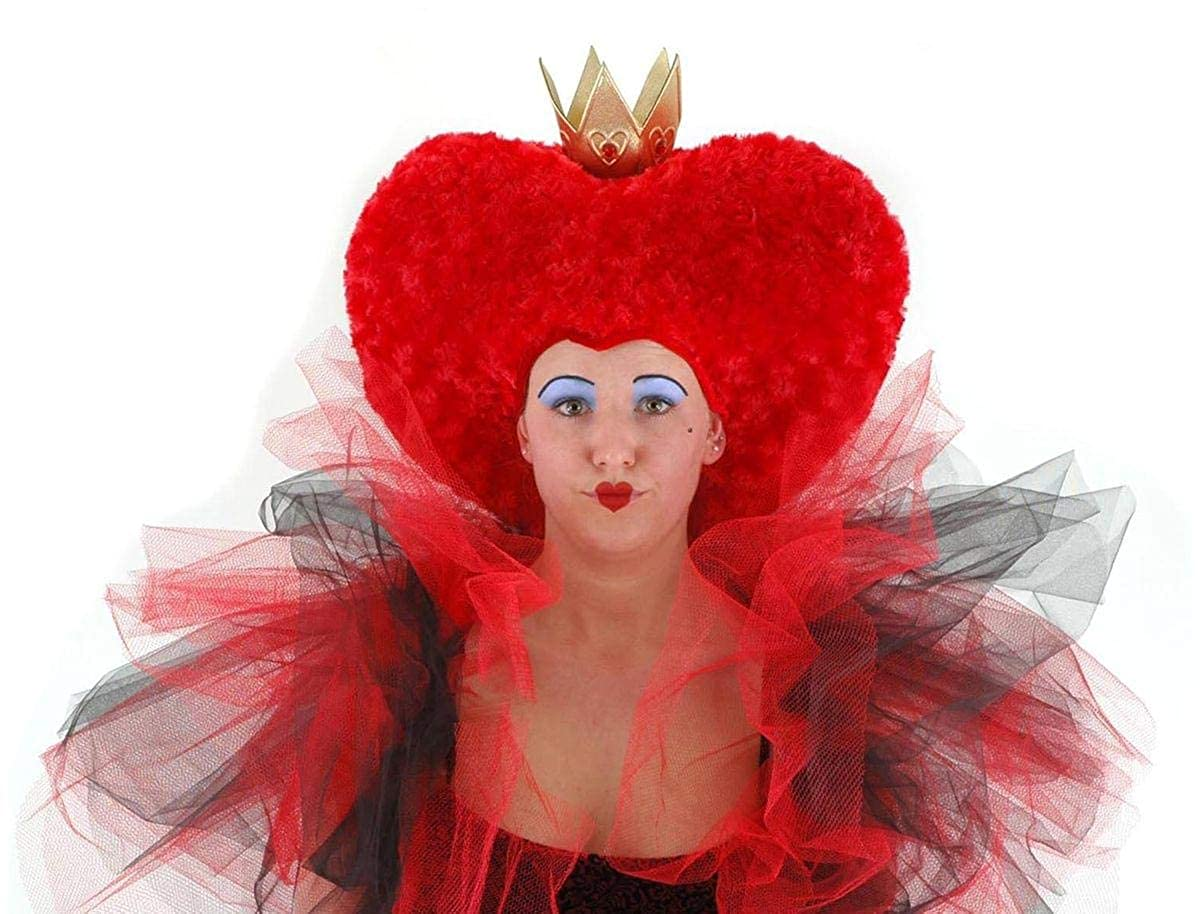 All NEW AIW Tim Burton/Disney Licensed Red Queen of Hearts Hat Elope Inc. LA2515