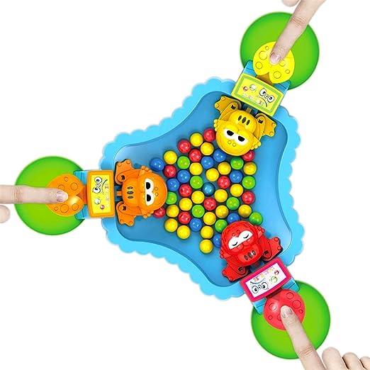 ESPLAY Juegos de Mesa para niños Ranas hambrientas Juego Familiar ...