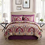 new york bed in a bag - VCNY Home Paisley 8pc Bed-in-a-Bag Comforter Set