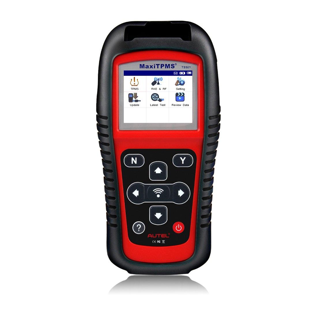 Autel MaxiTPMS TS501 TPMS OBD2 Activation Magnetic Tire Pressure Monitor  System Diagnostic Tool TPMS Sensor Check Kit ECU Program Reset Warning  Light