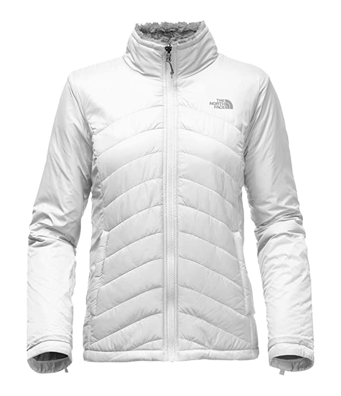 083ee77572f2 ... coupon code for amazon the north face womens mossbud swirl triclimate  jacket mid grey tnf white ...
