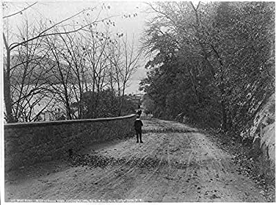 Photo: West Point,New York,NY,Orange County,c1889,Road to South Dock,Military