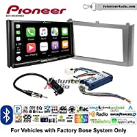 Volunteer Audio Pioneer AVH-W4400NEX Double Din Radio Install Kit with Wireless Apple CarPlay, Android Auto, Bluetooth Fits 2000-2003 Nissan Maxima (With Bose)