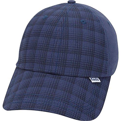 (Keds Brushed Plaid Cap (One Size - Peacoat))