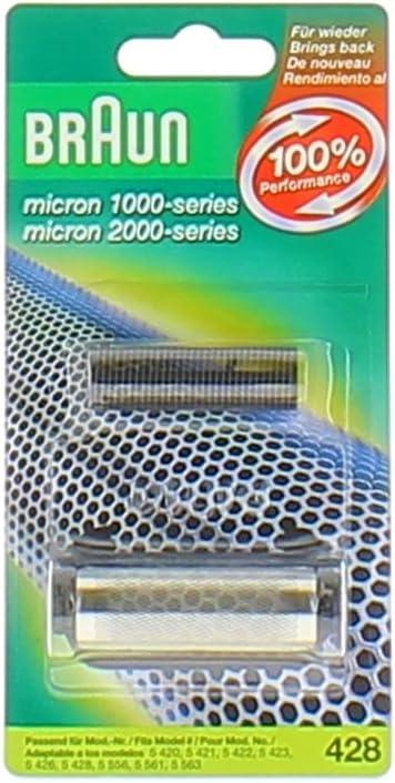 Braun BR428BC - Cabezal con rasurador para afeitadora: Amazon.es ...