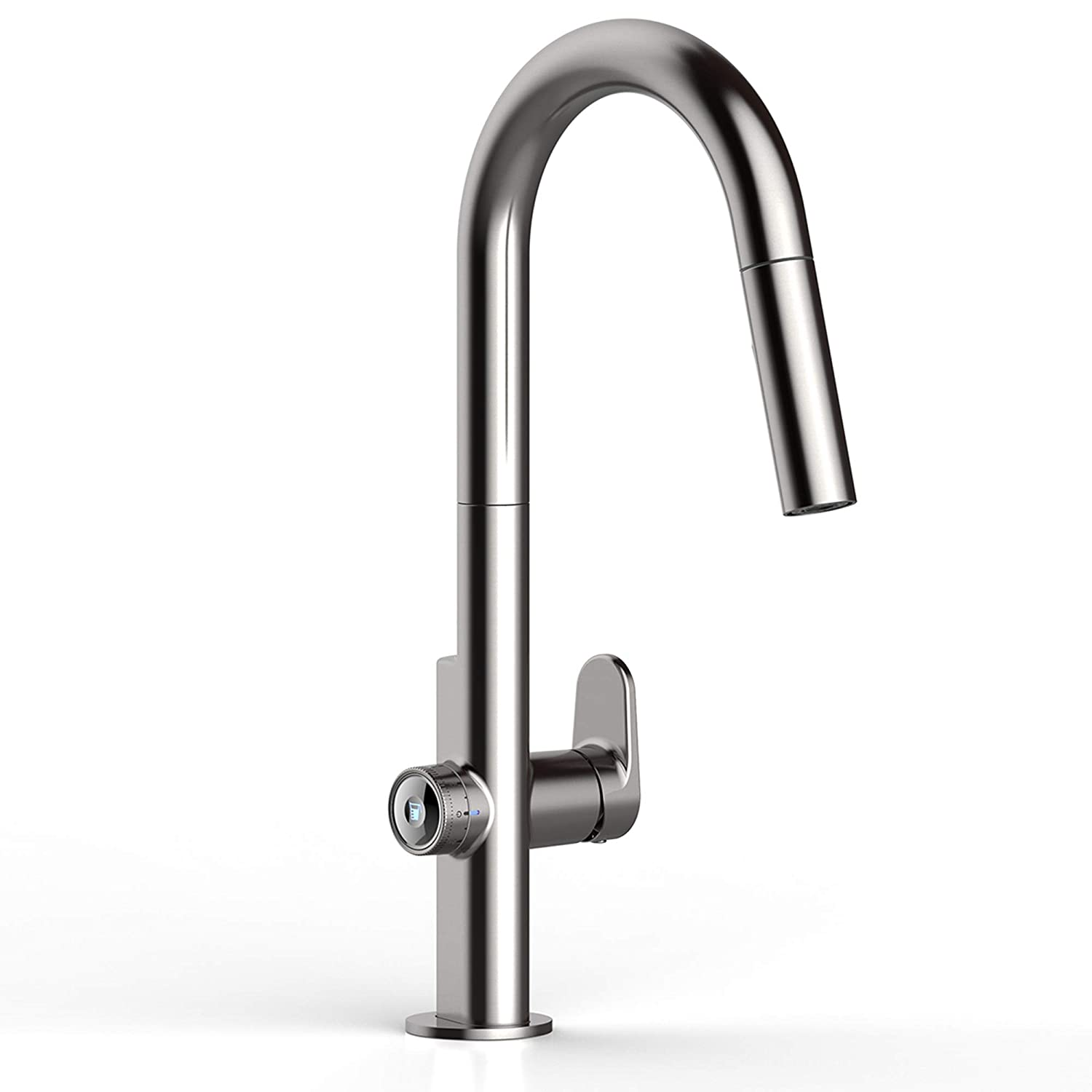 American Standard 4931360.075 Beale Measurefill Touch Kitchen Faucet, Stainless Steel
