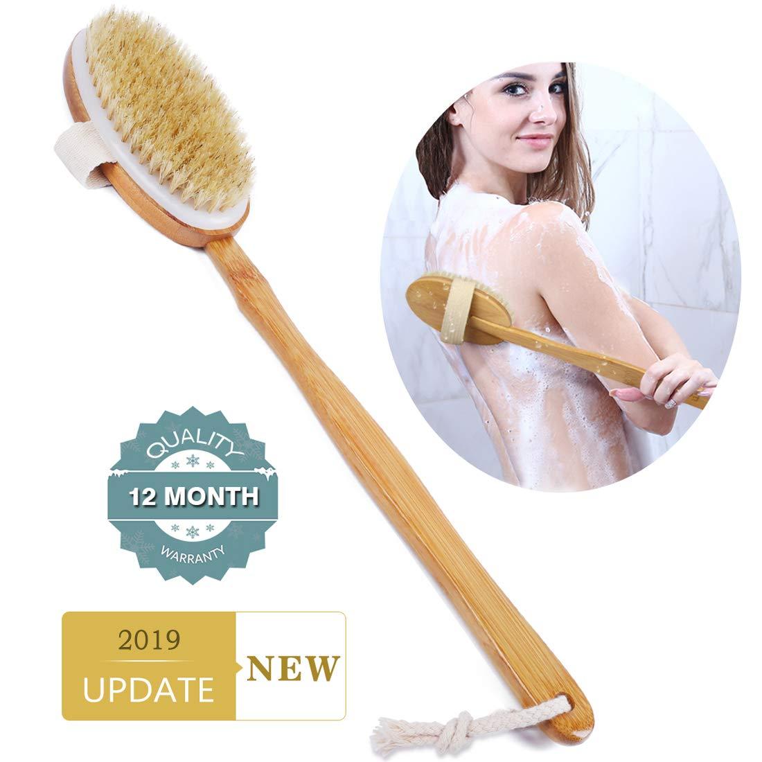 Ybj-ake Shower Back Scrubber