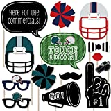 If you are going to have a Super Bowl photo booth, then having the best photo booth props is a must. Our Super Bowl - Party Photo Booth Prop cutouts will help you easily create fun party photos at your party. The photo booth prop kit comes wi...
